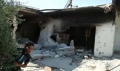 An image grab taken from a video released by the United Nations Supervision Mission in Syria (UNSMIS) shows a bombarded house in the Syrian village of Treimsa, in the central province of Hama on July 15, 2012.