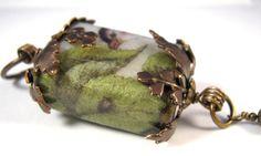 https://flic.kr/p/95CHGb   Vintaj Wrapped Image Transfer Bird Bead Pendant with Swarovski Crystal Drop