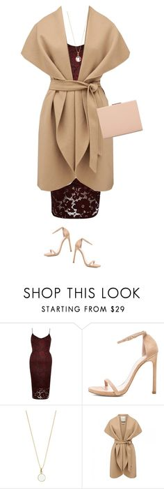 """""""Sunday dinner date !"""" by azzra ❤ liked on Polyvore featuring River Island, Stuart Weitzman, Accessorize and Forever New"""