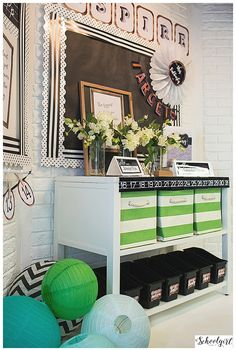 Industrial Chic Classroom Decor Collection