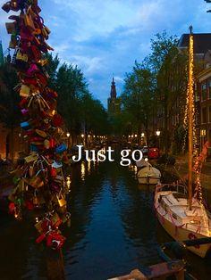 Travel inspiration. Amsterdam, Netherlands