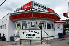 White Mana Diner, Jersey City, NJ -- I lived so close to this place and never went to it! can't believe i found it!!