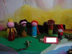 TEMAS DA HISTÓRIA : ESPERTEZA , GANÂNCIA,ARROGÂNCIA,INGENUIDADE,TRABALHO <br>O Teatro de Bonecos é uma forma lúdica de estimular a imaginação e fantasia das crianças.Durante a narrativa os personagens se movimentam num cenário simples e mágico que pode ser criado com panos coloridos, sementes e cascas de árvores.Muito utilizado nas escolas européias, e em especial na Pedagogia Waldorf, encanta adultos e crianças tanto na escola, em casa, como em comemorações como Aniversários. <br>Excelente…