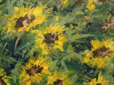 Artwork >> Arturo Arboleda Restrepo >> forest #sunflowers  #artwork, #oil, #painting, #masterpiece, #contemporary, #beauty, #extraordinary