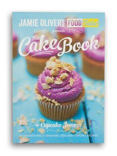 buy now Jamie Oliver's Food Tube presents The Cake Book, a collection of 50 deliciously inventive and exciting cake and cupcake recipes from Food Tube's own Cupcake Jemma. Breakfast Cupcakes, Book Cupcakes, Fun Cupcakes, Cupcake Cakes, Amazing Cupcakes, Jamie Oliver, Cupcake Jemma, Cupcake Queen, Eton Mess