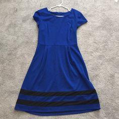 Blue Dress Knee length blue dress by AB Studio. AB Studio Dresses