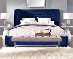 Thibaut Upholstered Platform Bed #platformbed