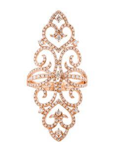 1.25ctw Diamond Filigree Ring - Womens Fine Jewelry - FJR20705   The RealReal