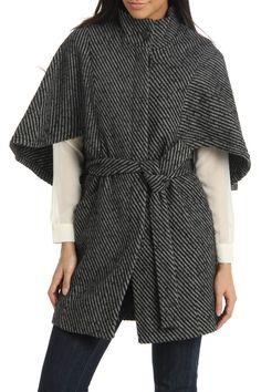 Capelet Coat