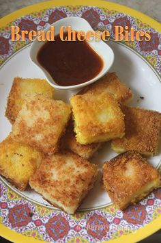 Bread Cheese Bites Recipe - Quick Snack Ideas for Kids