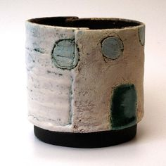 Craig UNDERHILL - Large Ceramic  Slab Built Pot