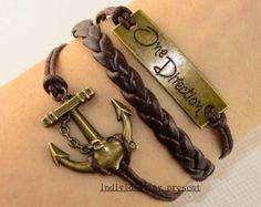 One direction bracelet anchor bracelet by Individualitypresent, $2.99