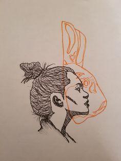 Drawing by Ella Close - Drawing by Ella Close - - # Close . - Drawing by Ella Close – Drawing by Ella Close – – down – - Art Inspo, Kunst Inspo, Inspiration Art, Tattoo Inspiration, Drawing Sketches, Art Drawings, Drawing Drawing, Outline Drawings, Sketching