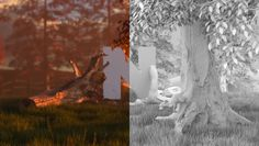 Viasat Nature Idents VFX Brakedown
