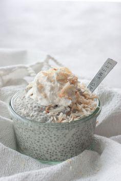 Coconut Cream Pie Chia Pudding