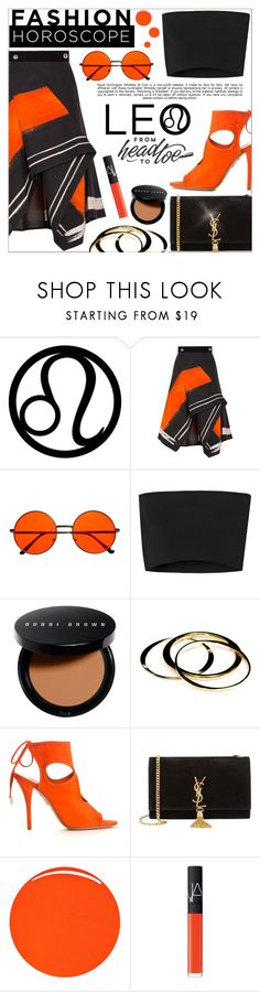 """""""Fashion Horoscope: Leo"""" by anilovic ❤ liked on Polyvore featuring Peter Pilotto, Whiteley, Calvin Klein Collection, Bobbi Brown Cosmetics, Janna Conner, Aquazzura, Yves Saint Laurent, RGB Cosmetics, NARS Cosmetics and leo"""