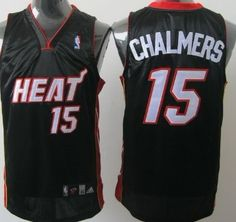 Mario Chalmers Black Authentic Jersey