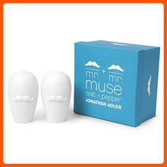 Jonathan Adler Mr & Mr Muse S&P Shakers - Kitchen gadgets (*Amazon Partner-Link)