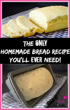 The Only Homemade Bread Recipe You'll Ever Need! ~ RockItLikeAMom.com