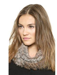 Lisa Mende Design great rabbit infinity scarf