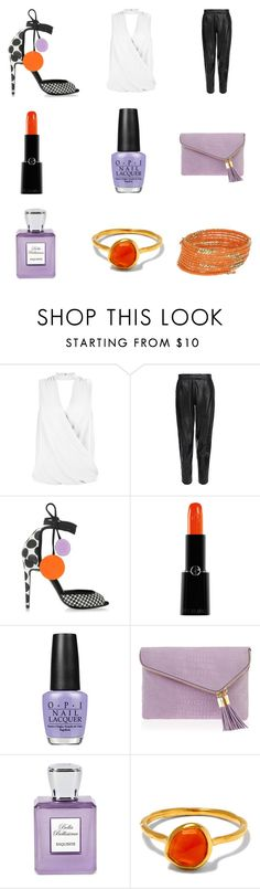 """""""Untitled #302"""" by leah3000 ❤ liked on Polyvore featuring New Look, MuuBaa, Pierre Hardy, Giorgio Armani, OPI, Henri Bendel, Bella Bellissima, Monica Vinader and Miss Selfridge"""