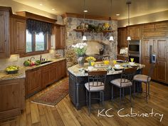 Totally in love with this kitchen!