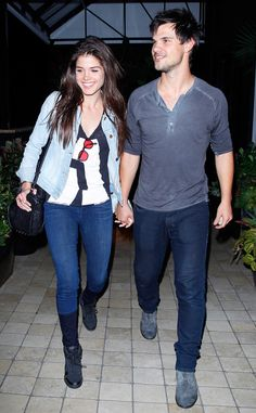 Taylor Lautner and Girlfriend Marie Avgeropoulous Break Up—Get the Details!  Taylor Lautner, Marie Avgeropoulos