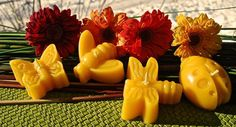 Super Cute Garden Bug Candles  Pure Beeswax by BurnstownBees, $10.00