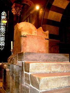 der Kaiserthron im Aachener Dom