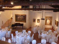 Sala del Francia (attrezzata per matrimonio) - Museo Ca' la Ghironda (Bologna)