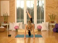 9.5 minute butt/leg routine with trainer Tracy Anderson. You might need your own music for this one :)