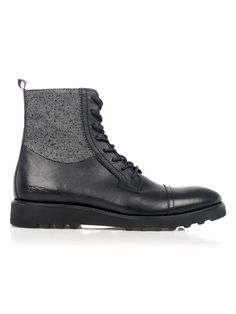 PlectrumLeather and Textile Boots