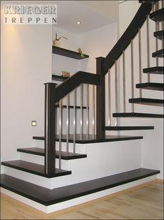 Galerie mit Bolzentreppen vom Treppenbauer