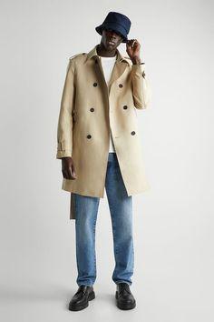 ΚΑΜΠΑΡΝΤΙΝΑ ΑΠΟ ΥΔΡΟΑΠΩΘΗΤΙΚΟ ΥΦΑΣΜΑ | ZARA Greece / Ελλαδα Zara, Color Beige, Pocket Detail, Double Breasted, Menswear, Mens Fashion, Long Sleeve, Water, Jackets