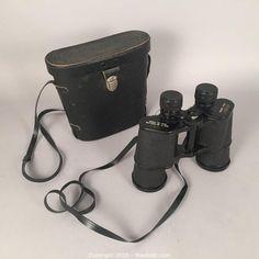 MaxSold - Auction: Toronto Estate Art & Antiques Online Auction - Vintage Binoculars in Case 100 x 150