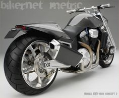 the way back machine to six years ago - the honda vtx 1800 concept 2