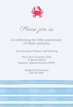 75 Best Anniversary Invitations Images On Pinterest In 2018
