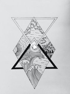 Geometric Tattoo – (notitle) – TattooViralcom Your Number One source for daily Tattoo designs, Ideas & Inspiration The post Geometric Tattoo – (notitle appeared first on Garden ideas - Tattoos And Body Art Trendy Tattoos, Mini Tattoos, Unique Tattoos, Body Art Tattoos, New Tattoos, Tattoos For Guys, Sleeve Tattoos, Symbolic Tattoos, Beautiful Tattoos
