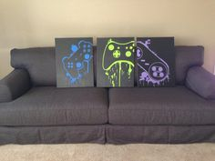 Hey, I found this really awesome Etsy listing at https://www.etsy.com/listing/111972628/video-game-controller-art