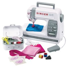 Singer Lockstitch Sewing Machine - Educational Toys, Specialty Toys and Games - Creative, Award Winning for Science, Math and More   Young E...