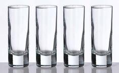 Set of 4 Tall Shot Glasses - LRG150