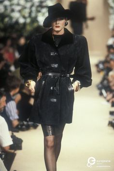 Yves Saint Laurent, Autumn-Winter 1989, Couture