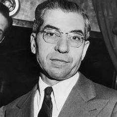 Lucky Luciano was paroled from prison in 1946 for his contributions to the war effort from his prison cell.  He was paroled on the condition that he returned to Italy, and was deported.