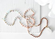 This combination of impression jasper and sunstone carries a light, airy + cheery energy. Jasper, Tassel Necklace, Calm, Positivity, Instagram, Jewelry, Jewels, Schmuck, Jewerly