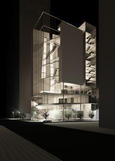 "The ARCHive - Yesenia Vega, USF School of Architecture + Community Design, Class of 2017 ""Museum of Amalgamated Art"" Advanced Design A: Professor Michael Halflants, Spring 2015"