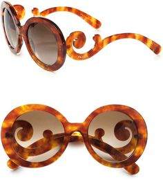 Prada Sunnies: I really like this. Will I buy them? No. I don't have that kinda money.