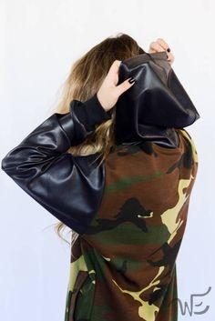 Jacket Long Camuflada WE7449