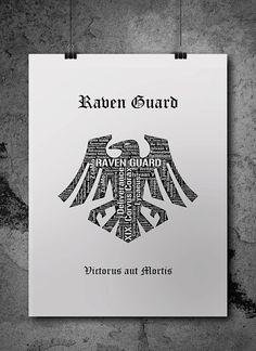Raven Guard Warhammer 40K by ZsaMoDesign