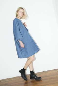 69 the label denim dress