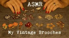 ASMR ~ My Vintage Brooches Show and Tell ~ Soft Spoken